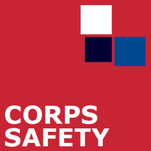 Corps Safety sign - safety services
